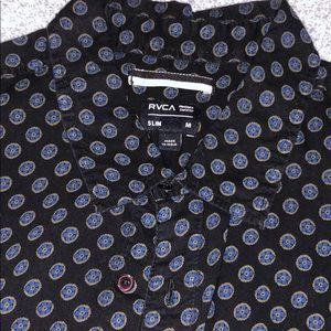 RVCA button down shirt